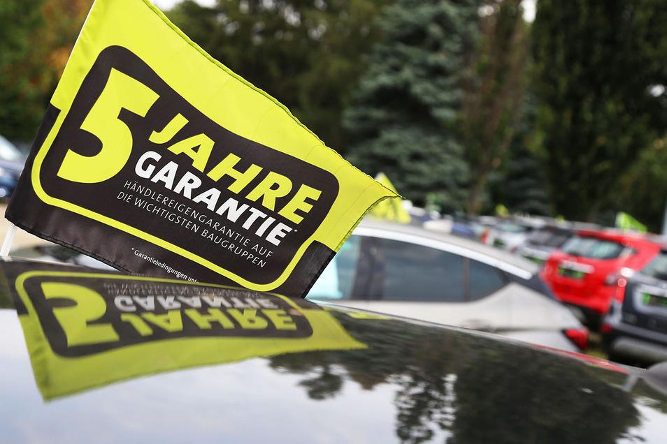 Fünf Jahre Garantie beim Kauf eines gebrauchten Opel.