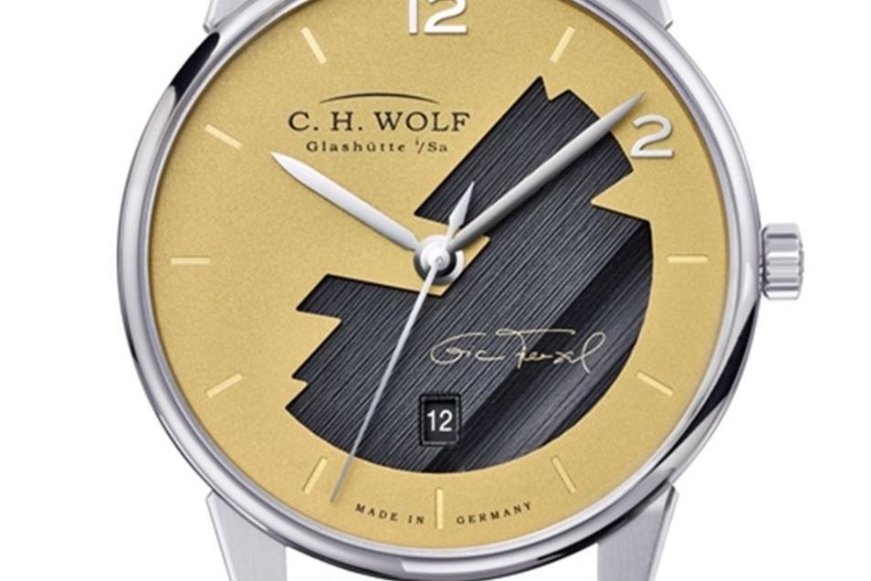 Wolf-Zeitmesser: die. Eric-Frenzel-Uhr.