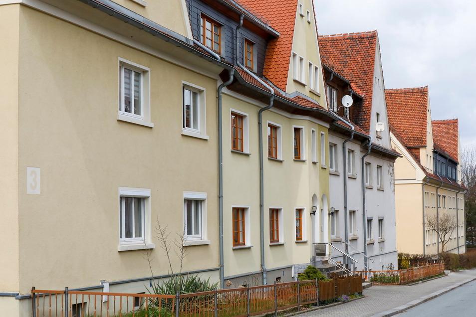 Liebevoll saniert und gut belegt: Häuser in der Otto-Staudinger-Straße in Löbau.