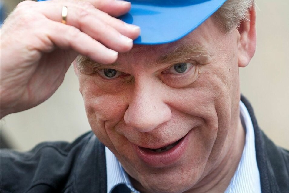 Sachsens Finanzminister Georg Unland.