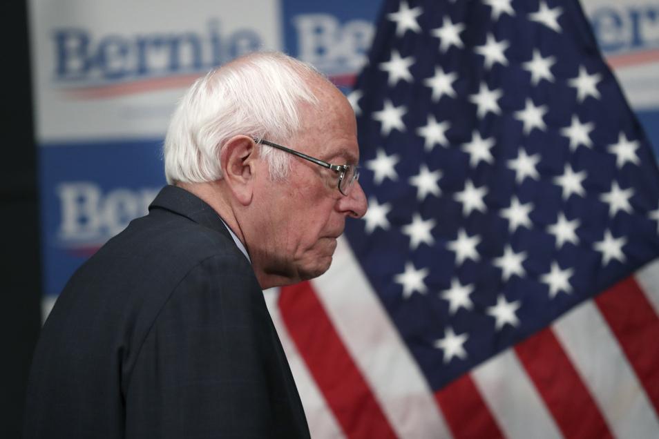 Bernie Sanders will nicht mehr Präsident der USA werden.
