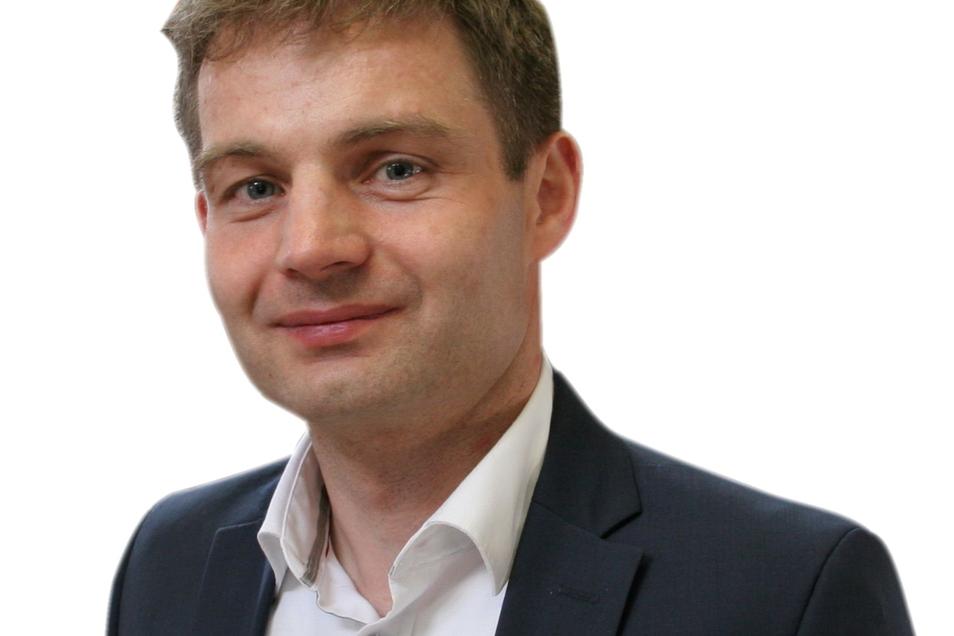 Ringo Hensel ist der Löbauer Oberbürgermeister-Kandidat der CDU.