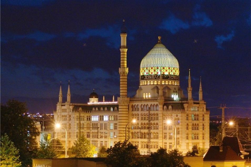 Die 1909 fertiggestellte Yenidze war im barocken Dresden ein Skandal.