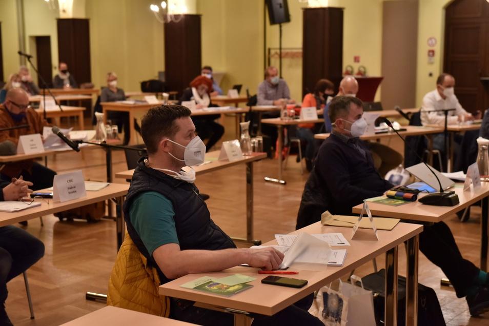 Kurz vor Weihnachten hatte der Stadtrat Dippoldiswalde seine letzte öffentliche Sitzung. Nach einer Coronapause von drei Monaten kommt er am 17. März wieder zusammen.