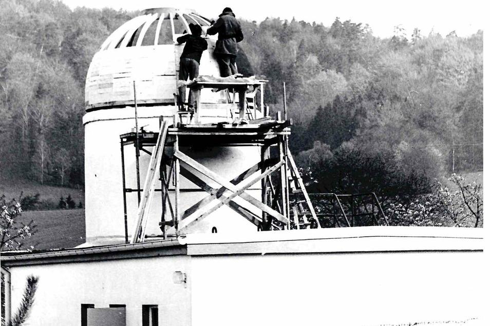 Ende der 70er-Jahre wurde die Schulsternwarte in Graupa errichtet.