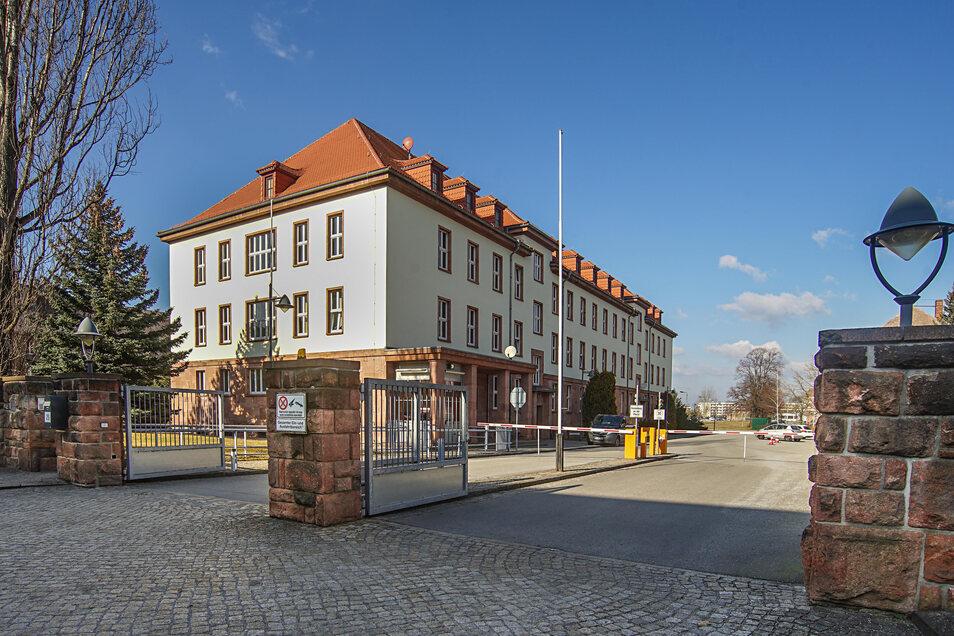 Das Studium an der Hochschule der Sächsischen Polizei, hier der Standort in Bautzen, wird zunehmend ins Internet verlagert.