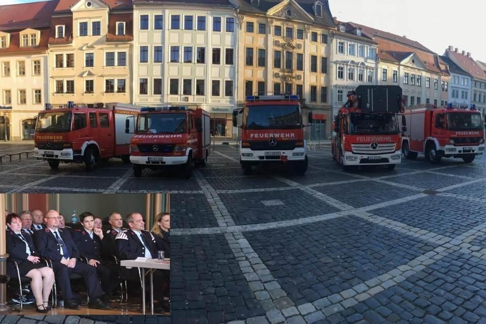 Als das erste Mal öffentlich im Stadtrat über mögliche Strukturveränderungen bei der Zittauer Feuerwehr diskutiert wurde, waren die Kameraden zur Stelle.