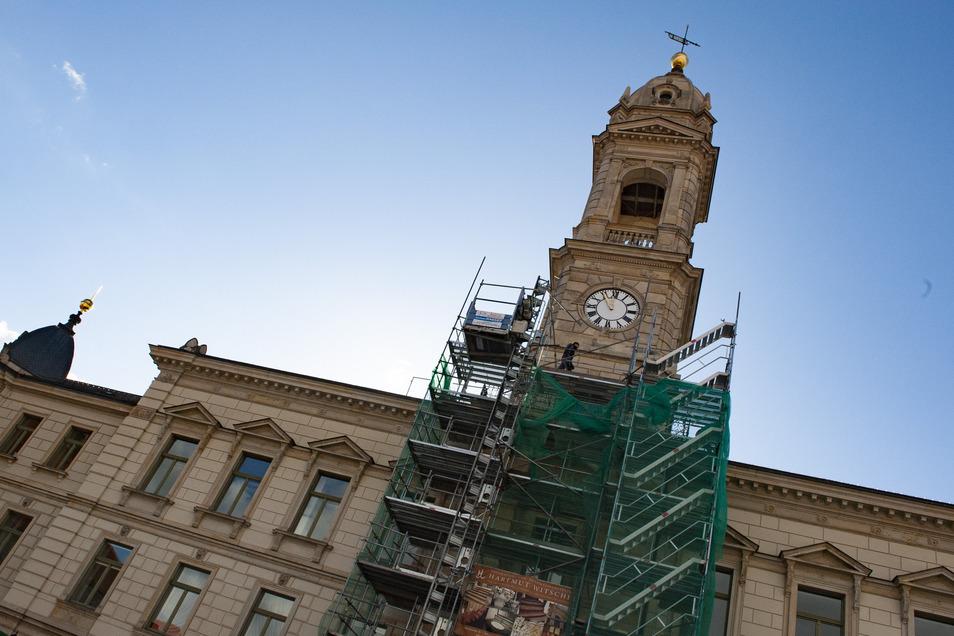 Die Zugänglichkeit des Rathauses ist in diesem Jahr aus verschiedenen Gründen nicht immer gegeben. Jetzt verhindert ihn der Coronavirus.
