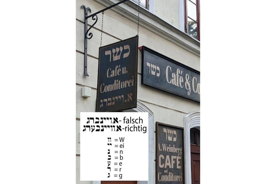 """Im jiddischen """"Weinberg"""" fehlt unter anderem das zweite """"e"""". Jiddisch hat Vokale - das Hebräische nicht."""