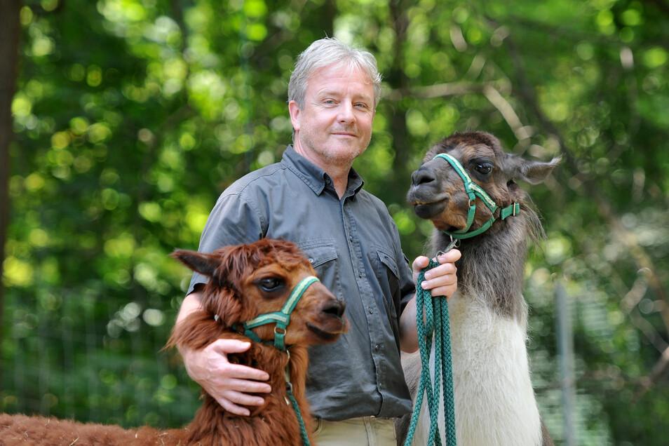 Bernd Großer leitet seit 1986 den Zittauer Tierpark. Bald wechselt er in eine andere Funktion.