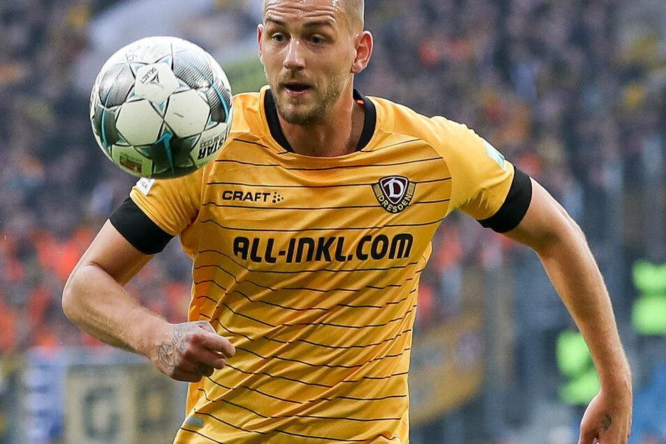Rene Klingenburg blieb nur ein Jahr in Dresden, nun unterschrieb er bei Viktoria Köln einen Vertrag.