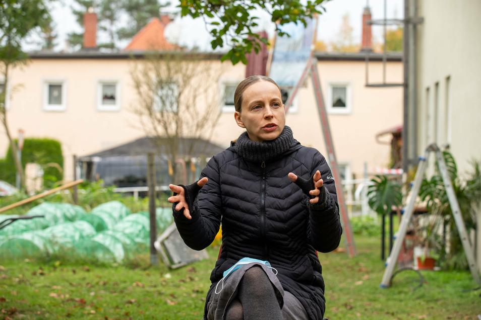 """Schauspielerin Petra Schmidt-Schaller: Das Thema des Films """"Der Kopf der Katze"""" hat mich sehr gereizt."""
