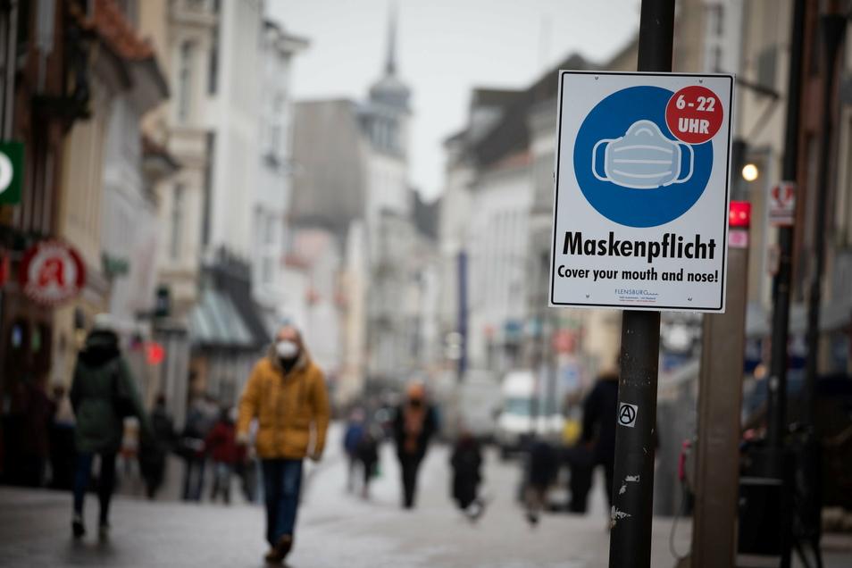 Schleswig-Holstein hat von allen Bundesländern aktuell die niedrigste Sieben-Tage-Inzidenz von 57. Der Kreis Flensburg verzeichnet sogar nur eine Inzidenz von 32.