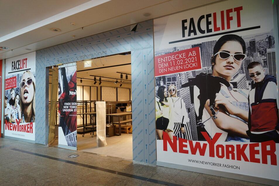 Facelift für New Yorker: Auch das Modegeschäft im Kornmarkt-Center wird umgebaut. Wie genau, verrät New Yorker aber noch nicht.