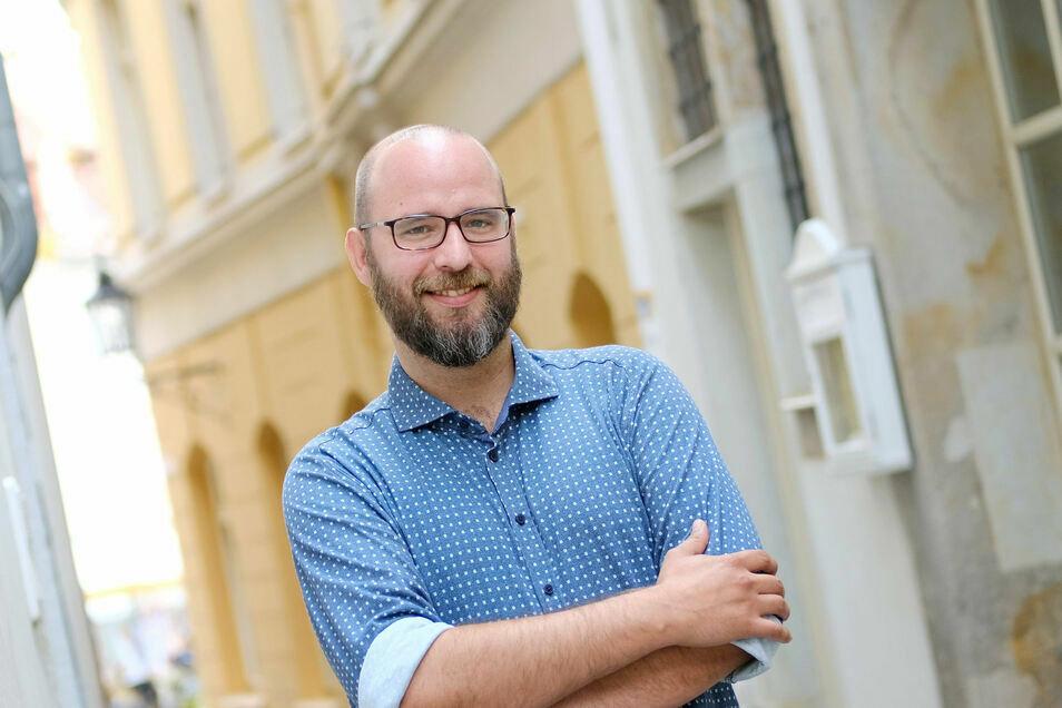 Wirtschaftsförderer Martin Schuster