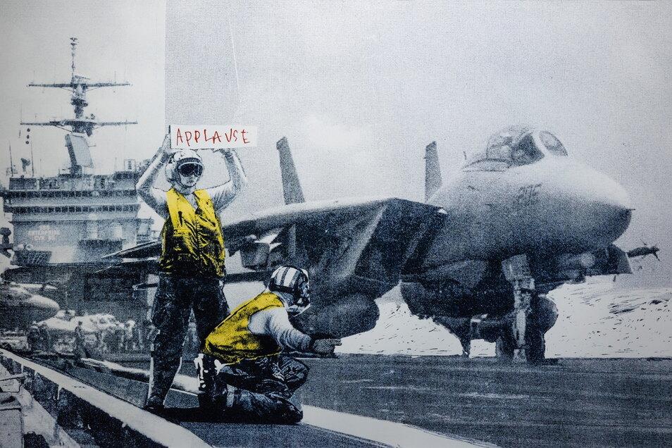 Zynische Anti-Kriegs-Botschaften sind Banksys große Stärke.
