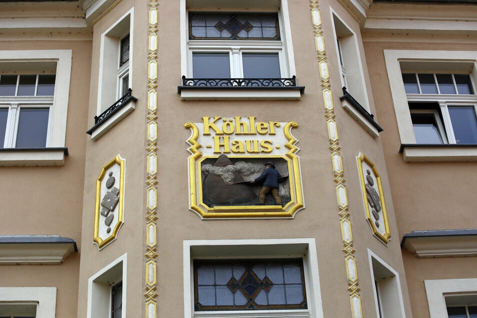 Das von Soko Bau sanierte Köhlerhaus auf der Wettinstraße gehört zu den Schmuckstücken in Pulsnitz.