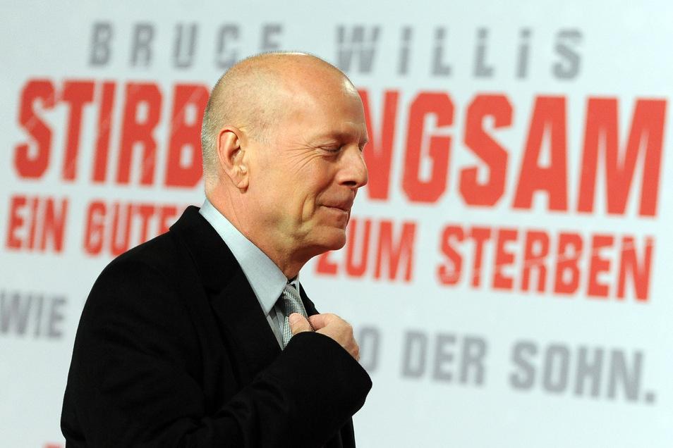 Bruce Willis ist 65 Jahre alt.