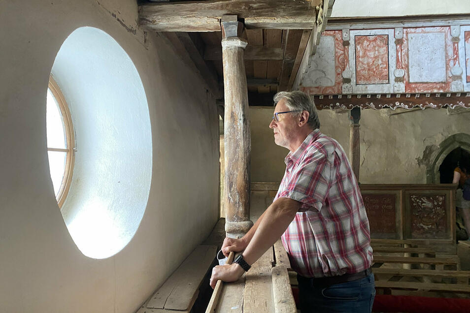 Dietmar Gross ist in seine alte Heimat zurückgekehrt. Dort setzt er sich jetzt für den Erhalt der Dorfstrukturen ein.