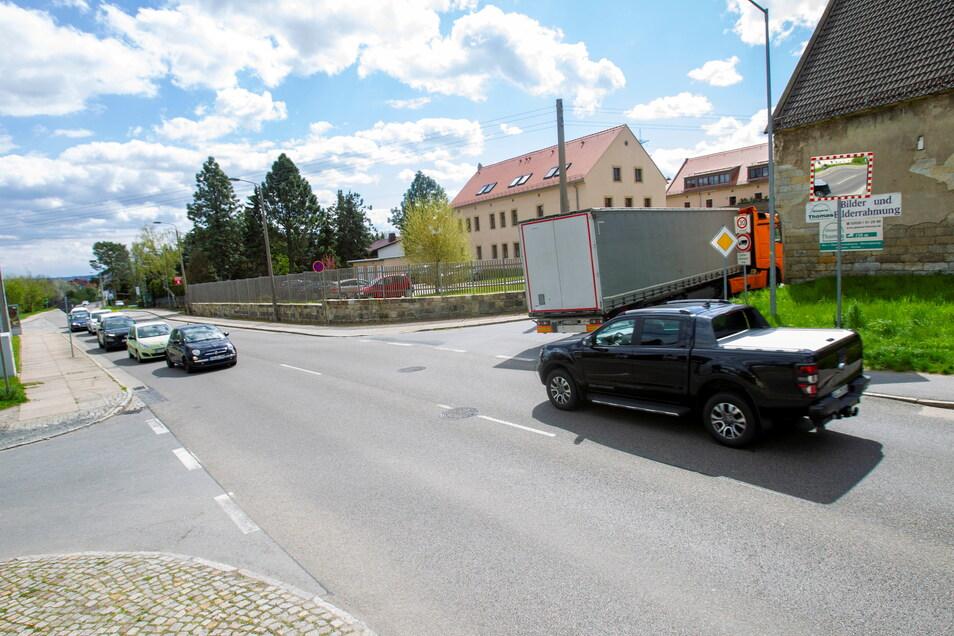 Mit dem Umzug der Schokoladen-Ampel wird auch die Kreuzung S172, West- und Lugturmstraße umgestaltet.