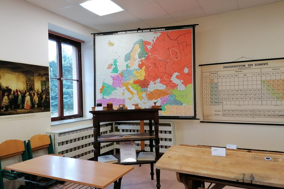 In Graupa eröffnet am 18. September eine Schulausstellung.
