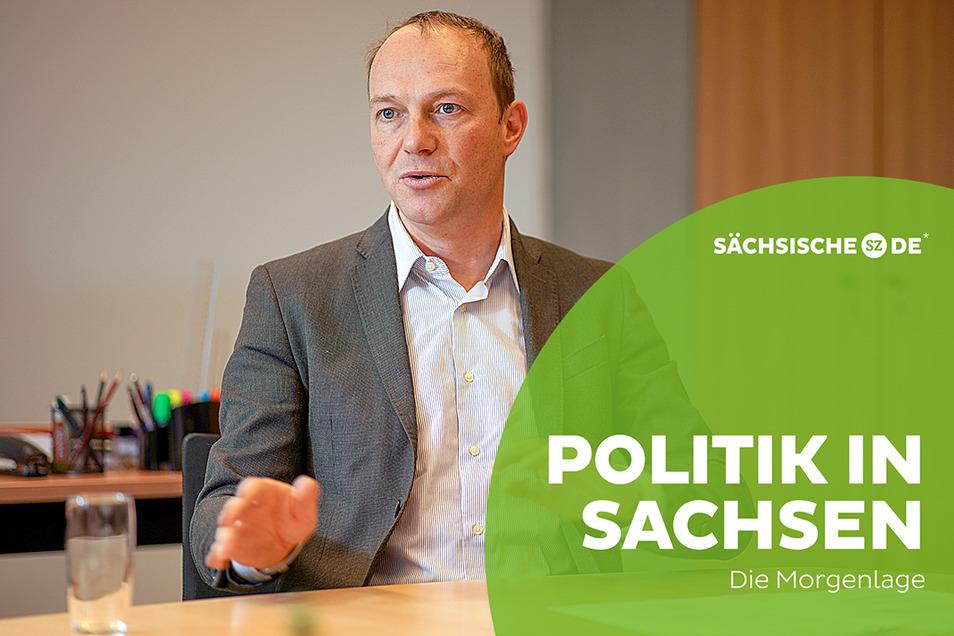 Landwirtschaftsminister Wolfram Günther (Grüne)