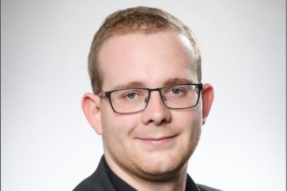 Linken-Stadtrat Christopher Colditz