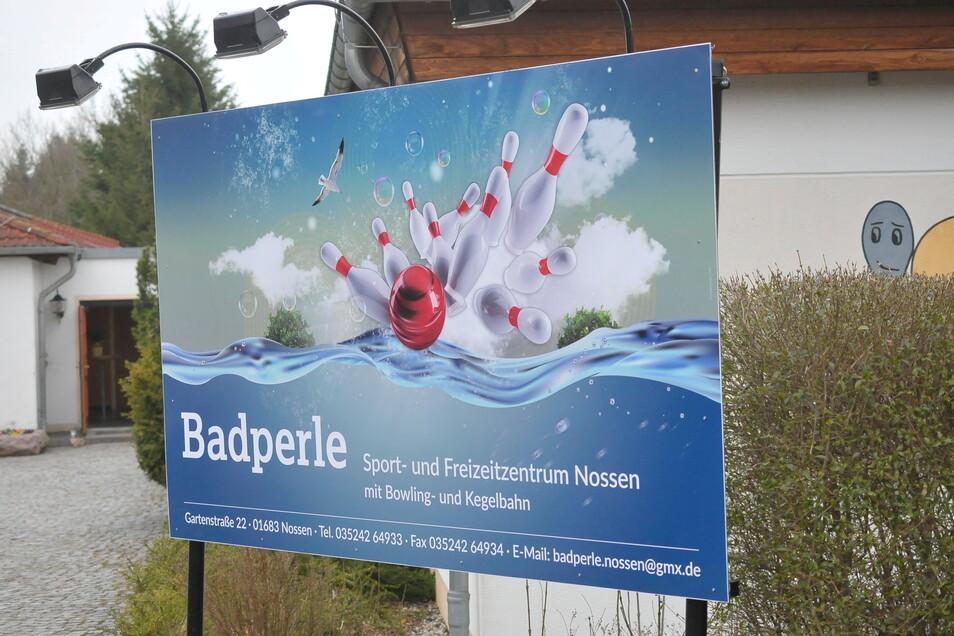 """Wenn die Stadt keinen Pächter findet, bleibt die Gaststätte """"Badperle"""" in Nossen bald zu."""