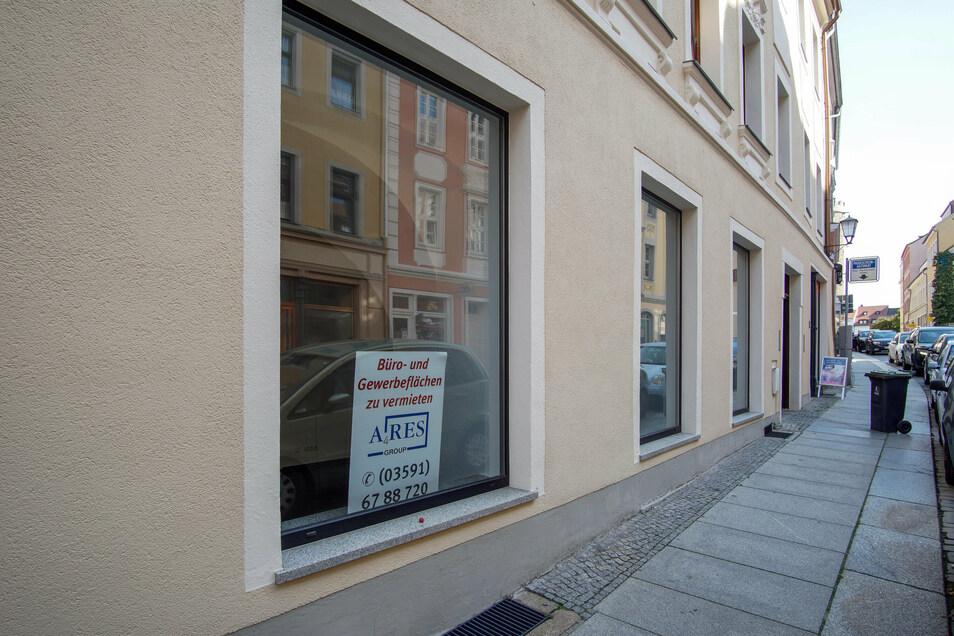In diesem Geschäft in der Wendischen Straße in Bautzen sollte das Tattoostudio von Christoph Aljoscha Zloch und Jan David Fautz entstehen. Jetzt werden neue Mieter gesucht.