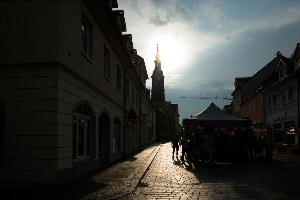 Als sie Sonne kam... füllte sich auch das Areal auf der Naundorfer Straße schlagartig.