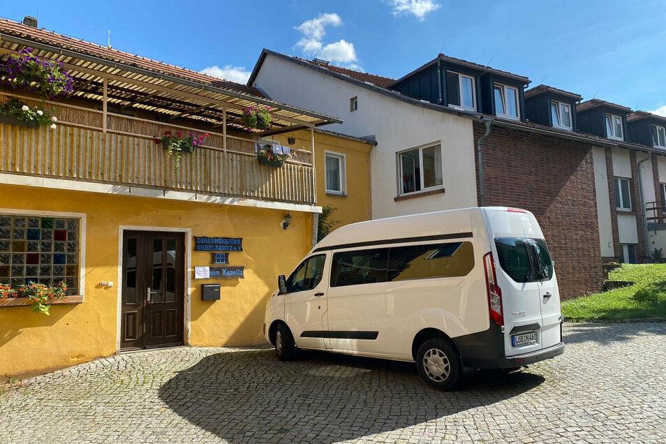 Das Behinderten-Wohnheim des Diakoniewerks Oberlausitz in Kemnitz.