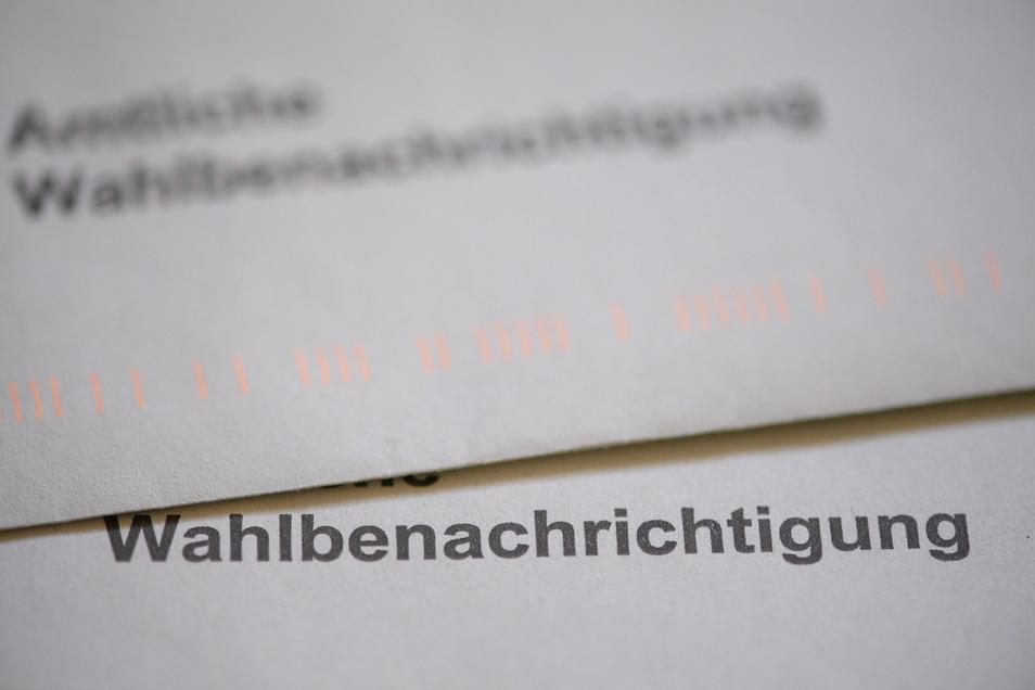 Die Wahlbenachrichtigung zur Bundestagswahl sollte inzwischen bei allen angekommen sein.