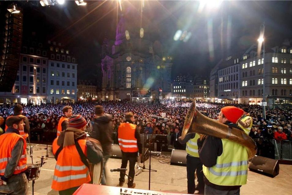 Die Dresdner Band ...