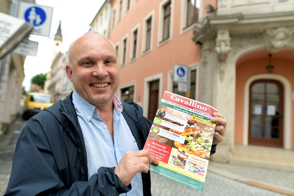Inhaber Henryk Haußer-Knabe will einen Neuanfang fürs Restaurant. Beim Cavallino-Lieferservice ändert sich aber nichts.