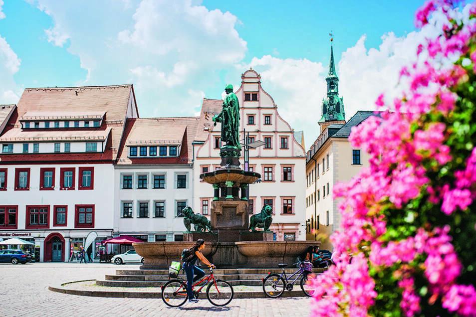 Freibergs historische Altstadt trägt als Teil der Montanregion Erzgeirge / Krusnohori seit 2019 den Welterbetitel.