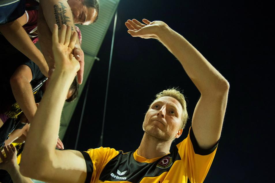 Marco Hartmann ist auch für die Dynamo-Fans wegen seiner Vereinstreue und Leidenschaft eine Identifikationsfigur.