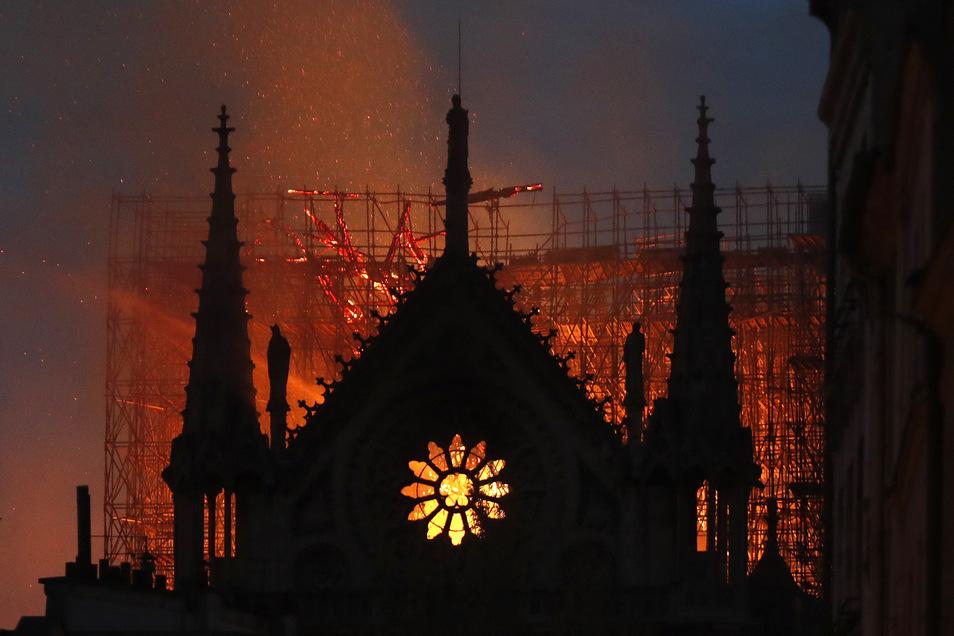 Vor einem Jahr schockierte der Brand der berühmten Kathedrale Notre Dame im Herzen von Paris – doch sie hielt stand und wird wieder aufgebaut.