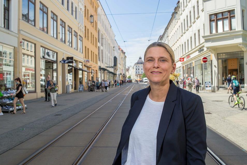 City-Managerin Ilona Markert.