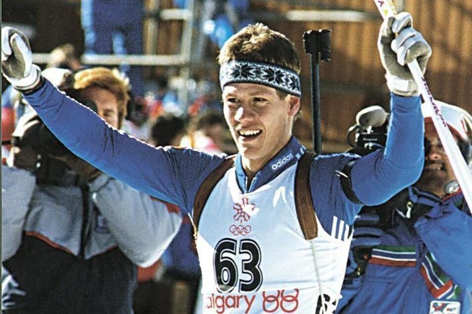 Bei den Olympischen Spielen 1988 in Calgary gewann Roetsch Gold im Einzel und im Sprint. In der Staffel kam das DDR-Quartett allerdings nur auf den fünften Platz.