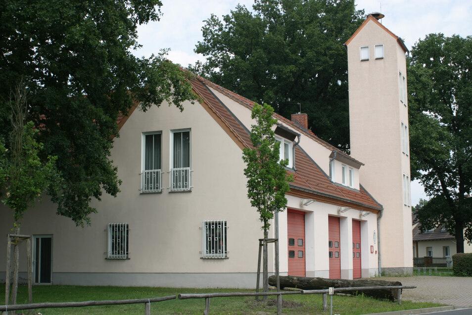 Das alte Feuerwehrgerätehaus der Schleifer Wehr.