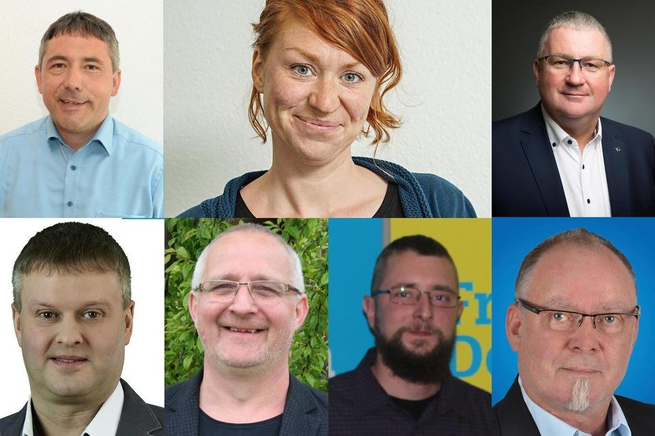 Das sind die sieben Kandidaten im Wahlkreis 57.