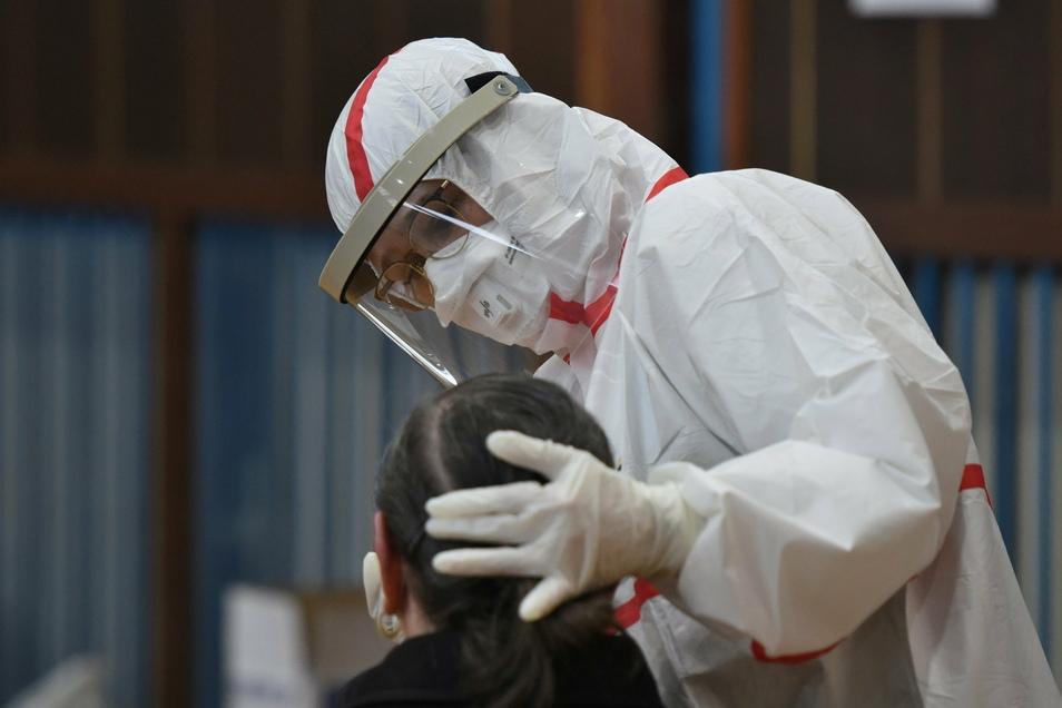 Am zweiten Tag wurden in Mittelsachsen nur 16 neue Koronafälle registriert.