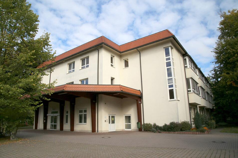 Das Krankenhaus Emmaus in Niesky ist eine Einrichtung der Evangelisch-Lutherischen Diakonissenanstalt Dresden. Im Bild die Notaufnahme.