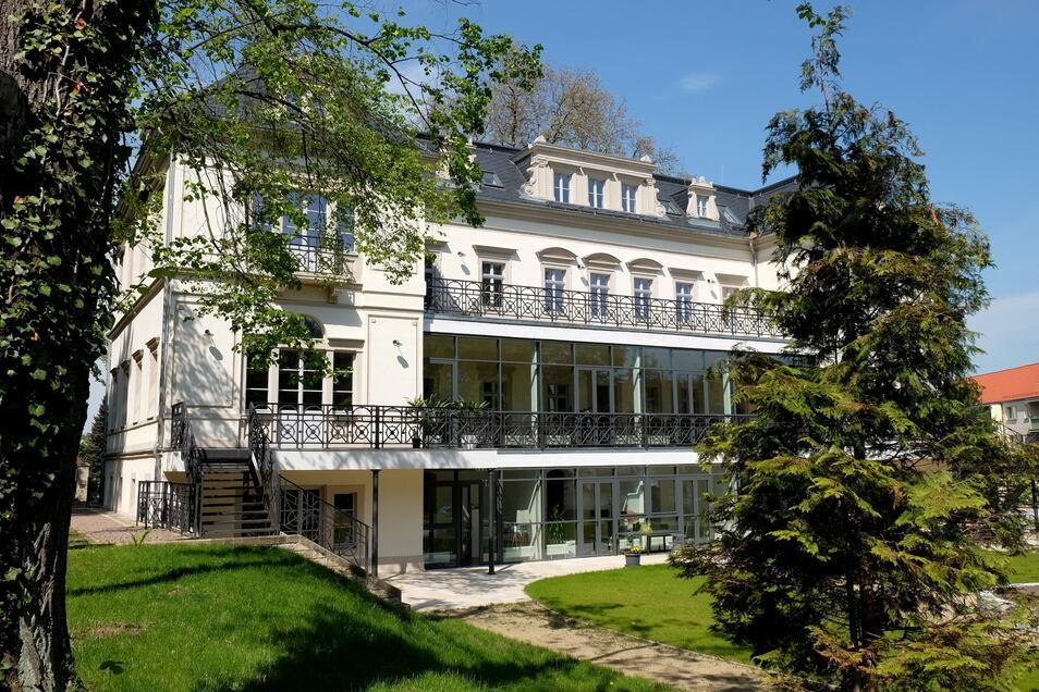 Der Katharinenhof in Meißen war mal ein städtisches Pflegeheim. Seit 2016 befindet sich dort die Tages- und Intensivpflege der Elsterwerdaer Firma Leocare genauso wie betreute Wohngruppen.