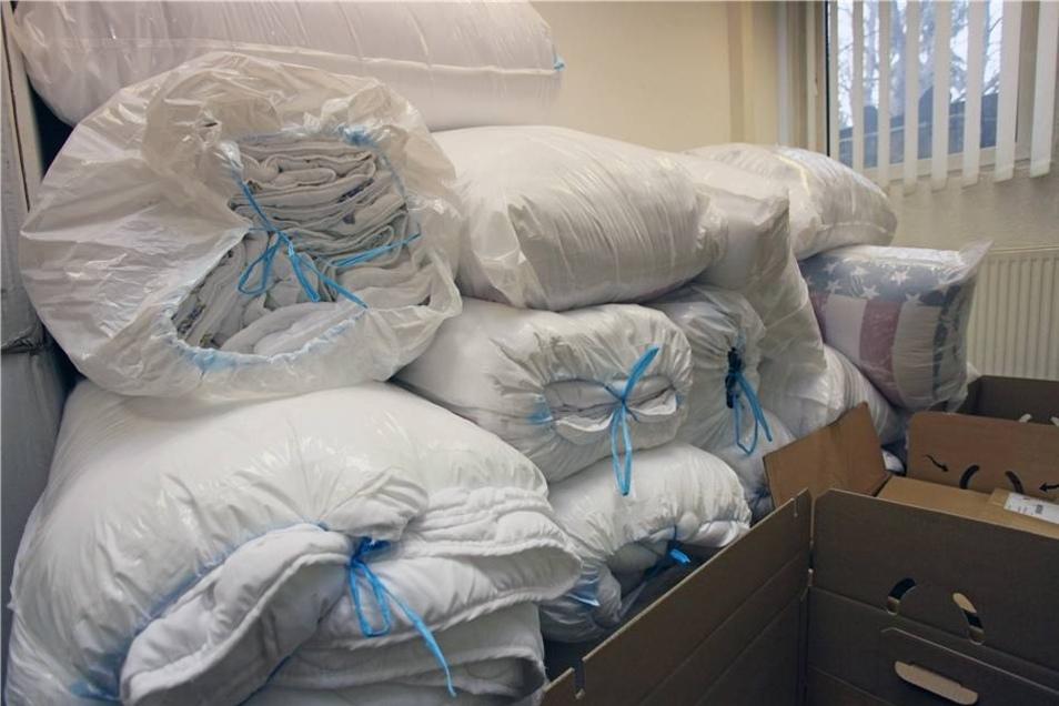 Auch die Reinigung der Decken spendeten die Spender.