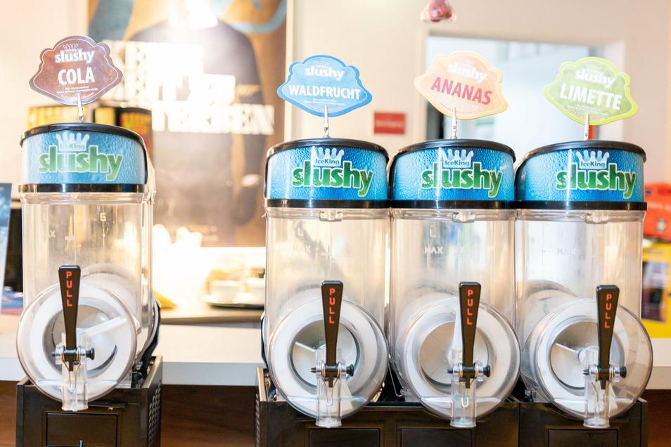 Jemand ein Eisgetränk? Momentan wohl eher nicht ...