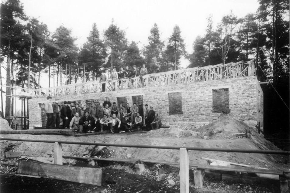 Das erste Sportlerheim wurde 1961 errichtet.