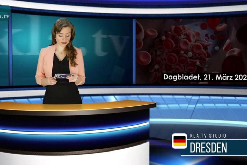 Eine Gymnasiallehrerin aus Dresden moderiert auf dem Sektensender Klagemauer-TV. Experten halten das Programm für demokratiefeindlich.