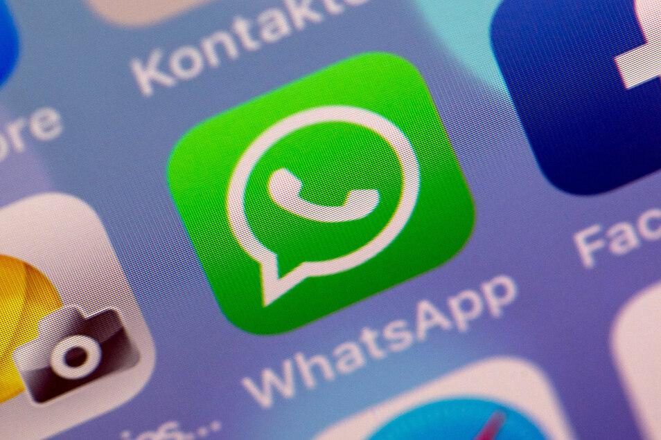 Einer Umfrage zufolge haben 79 Prozent der Befragten Whatsapp auf ihrem Smartphone.