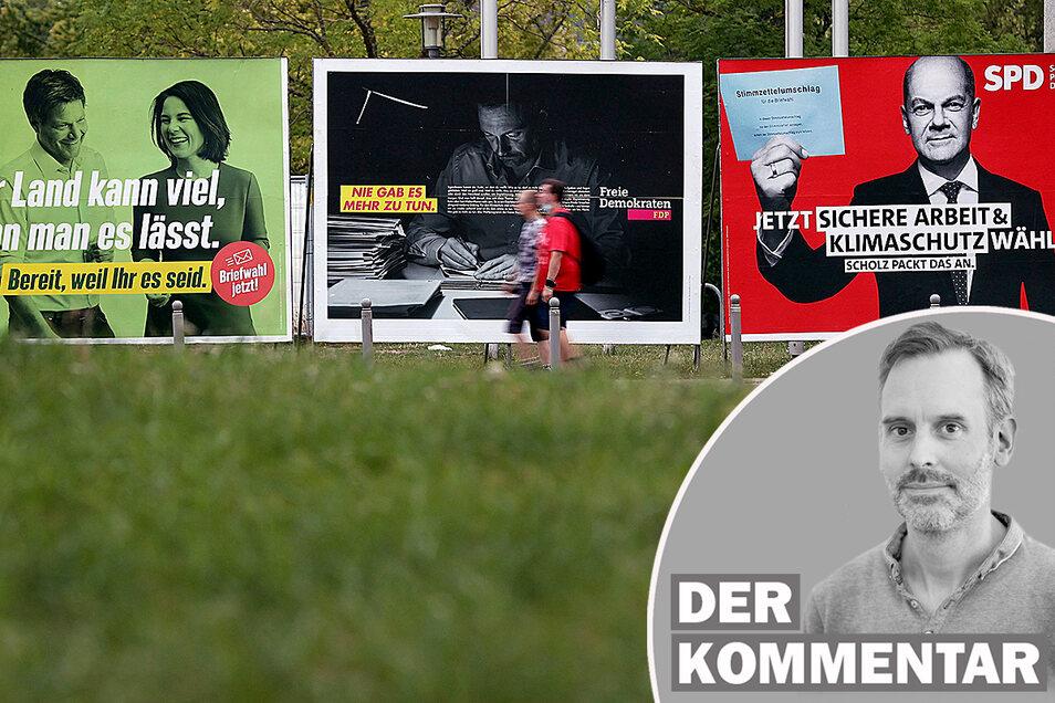 Ein notwendiges Übel, das nur beim Regieren stört? Wahlkampf ist viel mehr, meint Sächsische.de-Redakteur Marcus Thielking.